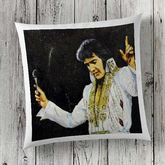 C55 Cushion Cover Sublimation Print Elvis