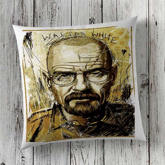 C57 Cushion Cover Sublimation Print Breaking Bad