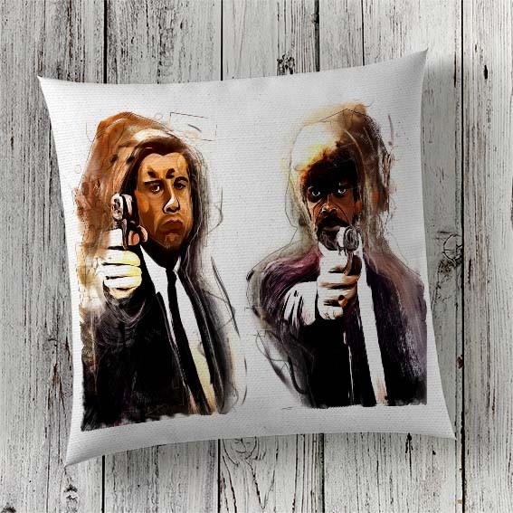 C5 Cushion Cover Sublimation Print Pulp Fiction