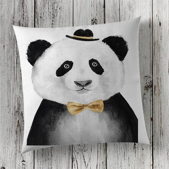 C72 Cushion Cover Sublimation Print Panda