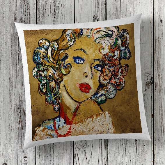 C77 Cushion Cover Sublimation Print Woman