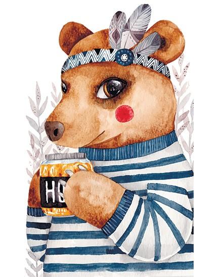 Cute Bear t shirt Print London