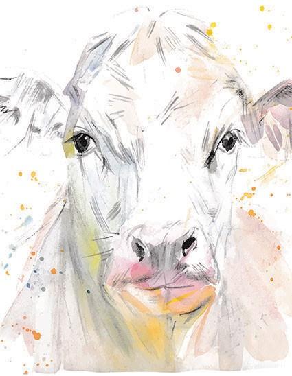 Cow Photo Print t shirt - London