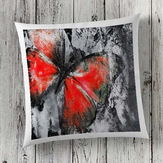 C7 Cushion Cover Sublimation Print Butterfly
