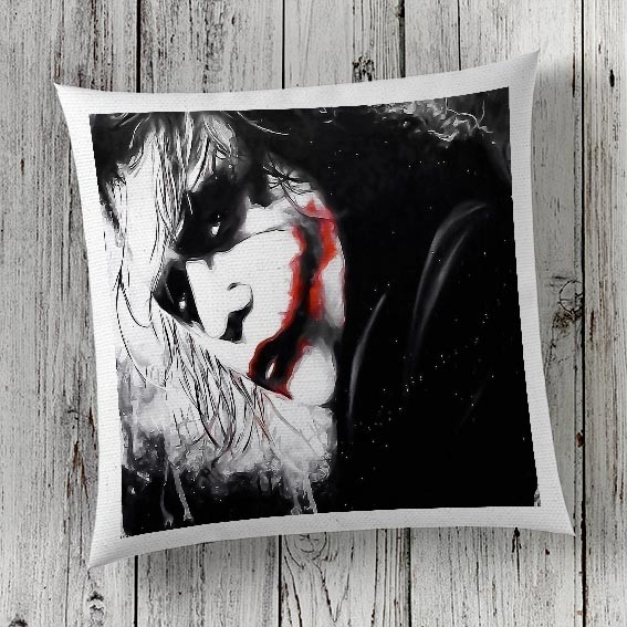 Print Joker image in Cushion Cover London
