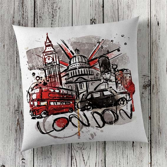 Cushion Cover Sublimation Print London