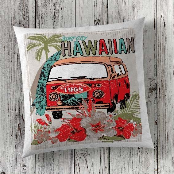 C89 Cushion Cover Sublimation Print Campervan