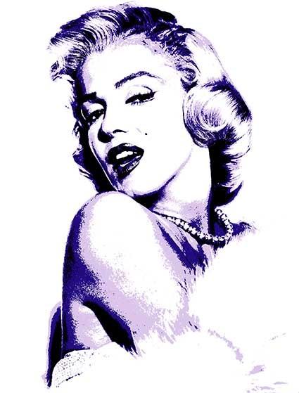 T98 Regular Fit Printed T-Shirt Marilyn Monroe