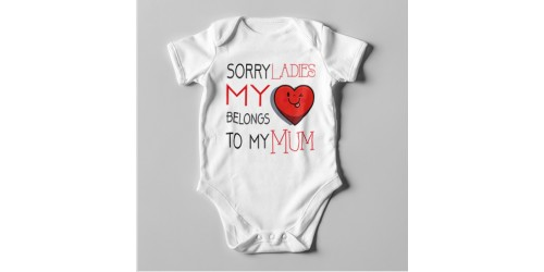 B11 Short Sleeve Baby Bodysuit