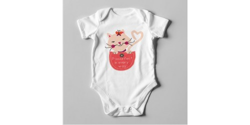 B15 Short Sleeve Baby Bodysuit