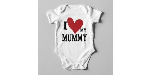 B16 Short Sleeve Baby Bodysuit