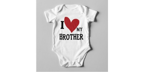B19 Short Sleeve Baby Bodysuit