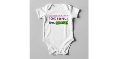 B26 Short Sleeve Baby Bodysuit