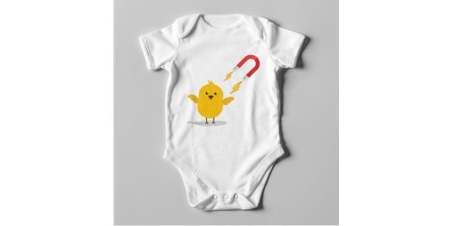 B34 Short Sleeve Baby Bodysuit