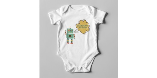 B35 Short Sleeve Baby Bodysuit