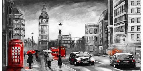 R3017 Canvas Wall Art Canvas Print London