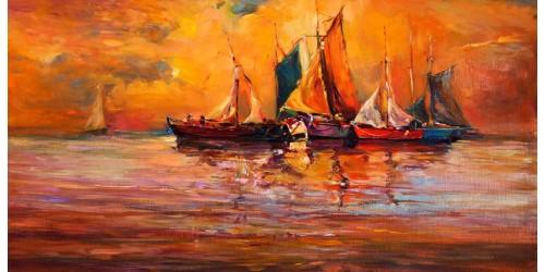R3190 Canvas Wall Art Canvas Print