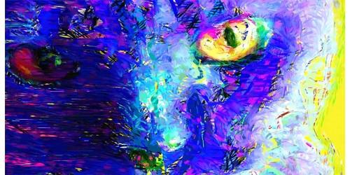 R3192  Cat Canvas Wall Art Canvas Print