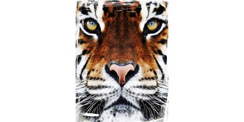 T110 Regular Fit Printed T-Shirt Tiger