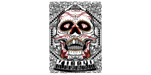 T116 Regular Fit Printed T-Shirt Sugar Skull