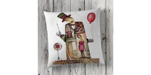 C129 Cushion Cover Sublimation Print London