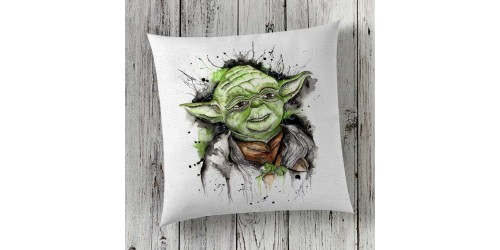C12 Cushion Cover Sublimation Print Yoda