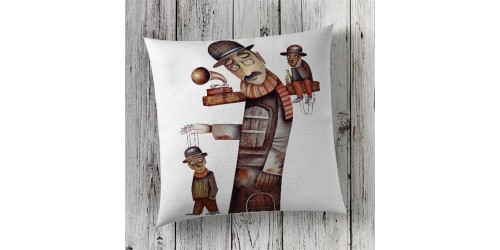 C130 Cushion Cover Sublimation Print London